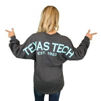 Texas Tech Football Spirit Jersey - Red Raider Zone
