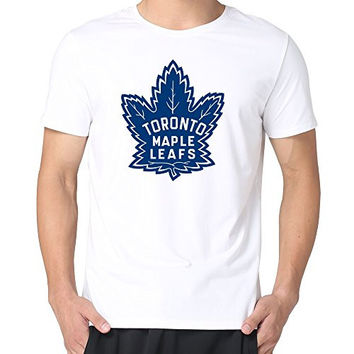 JUST Men's 1939 Toronto Maple Leafs Old Time Hockey T-Shirts White XL