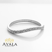 Special Reserved - Matching Band for Oval Diamond Engagement Ring