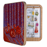 Renie Britenbucher Fox In Birch Batik BlingBox