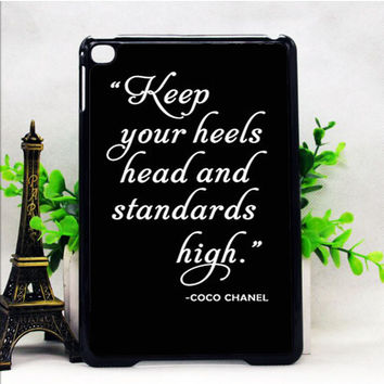 COCO CHANEL QUOTE IPAD MINI 1 | 2 | 4 CASES