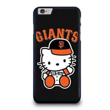 HELLO KITTY SAN FRANCISCO GIANTS iPhone 6 / 6S Plus Case Cover