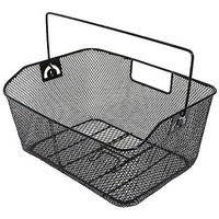 Wire Bike Basket Carrier Rack Storage Wide Mesh Wire Cycling Accessories