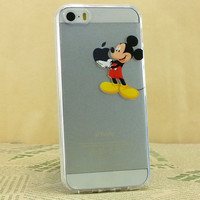 Copy of Mickey apple Clear Transparent Case For Apple iPhone 6 6 PLUS