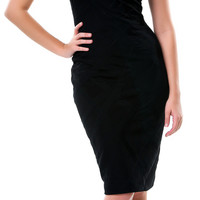 All Black Bandage Dress