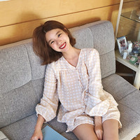 프롬비기닝 [[프리오더] Butter check pajama set_B (size : free)]