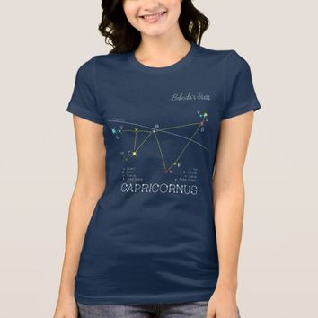Constellation CAPRICORNUS unique, impressive T-Shirt