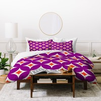 Holli Zollinger Mulberry Diamonds Duvet Cover