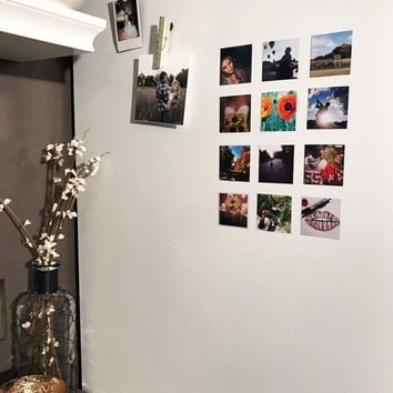 Square Photo Magnets