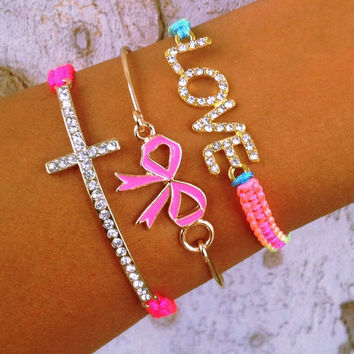 Neon Bow Crush Stack
