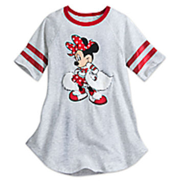 Minnie Mouse Cheerleader Tee for Girls - Walt Disney World