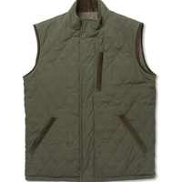 Loro Piana - Storm System Reversible Quilted Cashmere-Blend Gilet | MR PORTER