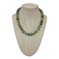 Green Botswanan Agate Necklace
