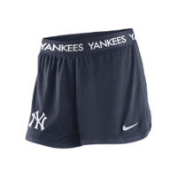 Nike Dri-FIT Icon Mesh (MLB Yankees) Women's Shorts Size XL (Blue)
