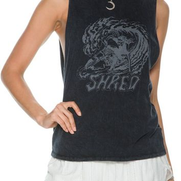 RVCA SHRED MUSCLE TANK