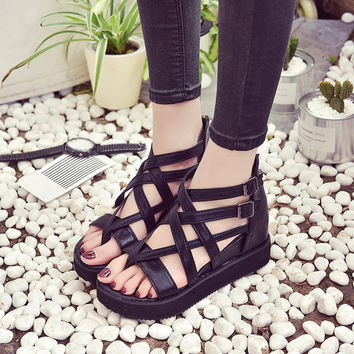 Summer Sandals Shoes Low Shoes Sandals