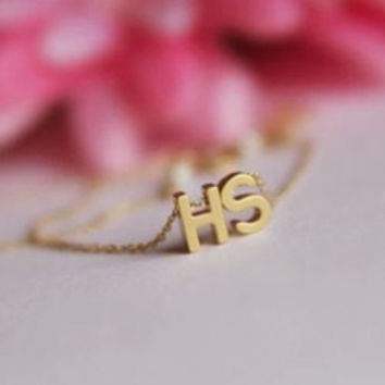 Exquisite Letter Pendant Simple Design Anklet For Women
