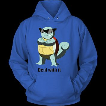 Pokemon Squirtle Deal With It Hoodie