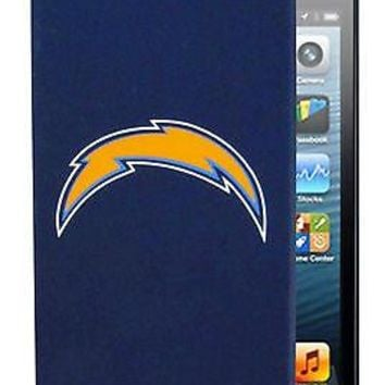 Los Angeles Chargers iPhone 5 Silicone Non-Slip Phone Apple Case Football