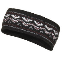 Fairisle Headband - Black