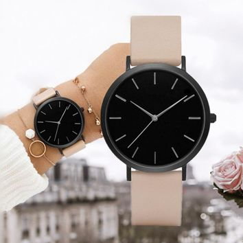 New Arrive Simple Fashion Women Watch Women Quartz Wristwatch Lady Watch Relogio Feminino Montre Femme Horloge Zegarek Damski