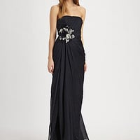 Silk Flower Gown