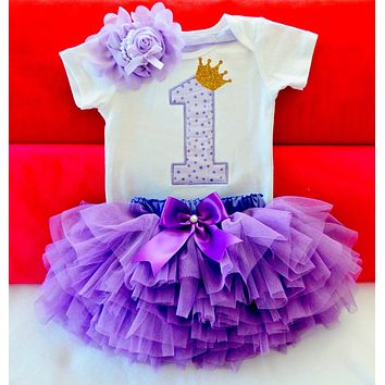 Baby Girl Clothes 1st Birthday Cake Smash Outfits Infant Clothing Sets Romper+Tutu Skirt+Flower Cap Newborn