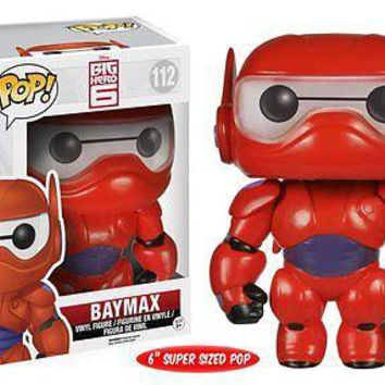 "Funko Pop Disney: Big Hero 6 - Baymax - 6"" Vinyl Figure"