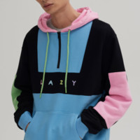Lazy Oaf Colour Panel Hoodie