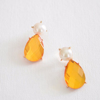 Pearl Crystal Ear Jacket