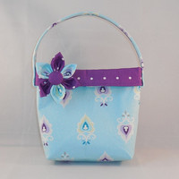 Cute Purple and Blue Little Girls' Purse
