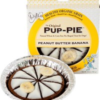The Lazy Dog Cookie Co. Original Pup-PIE Dog Treat, Peanut Butter Banana