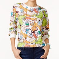 Nickelodeon X Love Tribe Juniors' Rugrats Printed Sweatshirt - Juniors Tops - Macy's