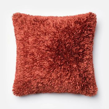 Loloi Rust Decorative Throw Pillow (P0045)