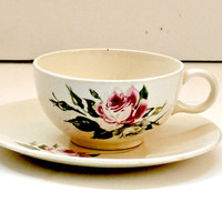 vintage rose tea cup and saucer antique china tea set free shipping retro tea cup teaset with roses saucer with roses