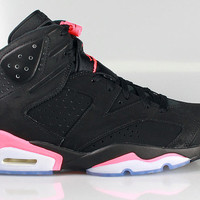 Air Jordan 6 VI Men's Retro Black Infrared 2014