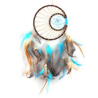 Handmade Feathers Dream Catcher Home Hanging Decoration Room Ornament Mascot Gift