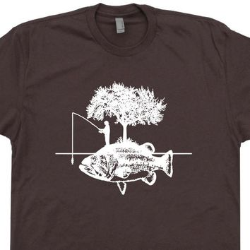 Cool Fishing T Shirt Fisherman T Shirt Vintage Fishing T Shirt Funny Fishing Tee