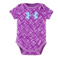 Under Armour Girls' Newborn UA Big Logo Favella Lace Bodysuit