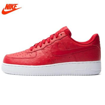 Original New Arrival NIKE Authentic AIR FORCE 1 men's Skateboarding Shoes sneakers