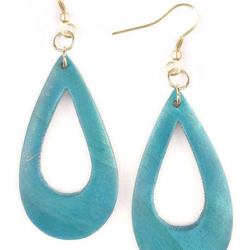 Shizuku Earrings - Teal