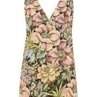 Floral Jacquard Pini Dress | Topshop