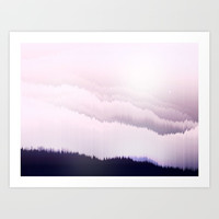 Norwegian Wood Art Print by Printapix