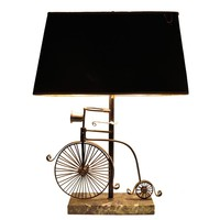 A Charming Bicycle Lamp