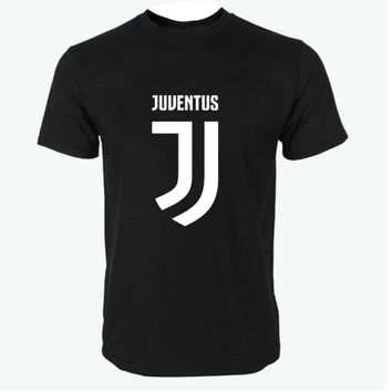 brand T Shirt Men'S Lastest 2017 Fashion Short Sleeve Juventus Printed T-Shirt Funny Tee Shirts Hipster O-Neck Cool Top