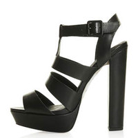 LUCY Gladiator Sandals - Black