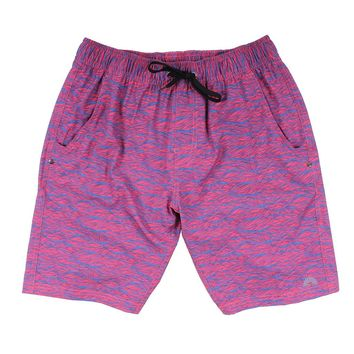 Chillaxer Stretch Shorts in Kayak Me by Waters Bluff