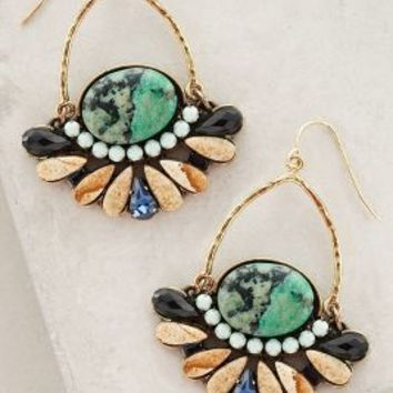 Daylight Pass Hoops by Jill Schwartz Blue Motif All Earrings