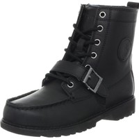 Polo by Ralph Lauren Ranger Hi II 90945 Boot (Toddler/Little Kid/Big Kid),Black,10.5 M US Little Kid