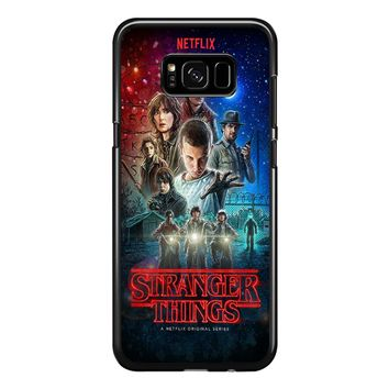 Stranger Things Poster Netflix Samsung Galaxy S8 Case